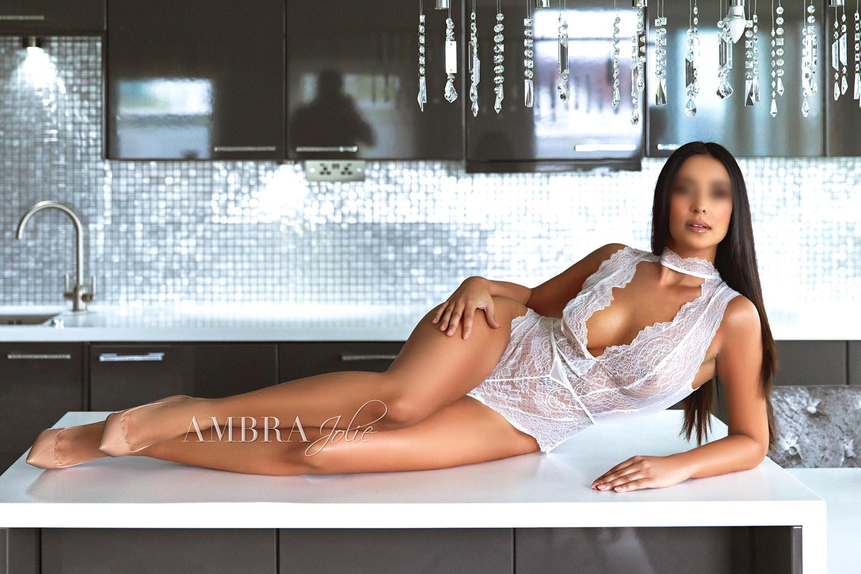 Ambra Jolie - Brunette Vip Model and Top Class Escort